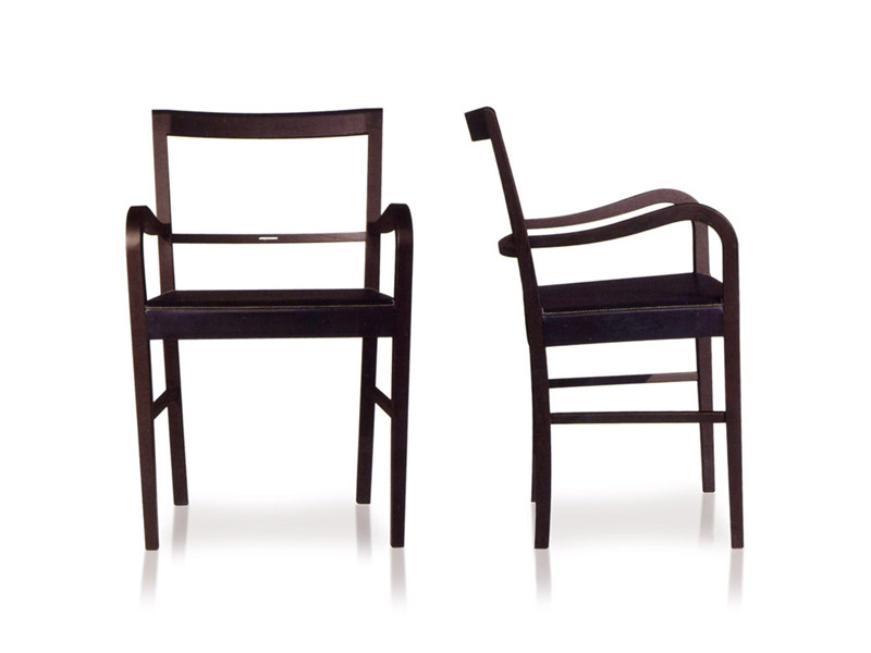 Upholstered chair with armrests VIENNA | Chair with armrests - ESTEL GROUP