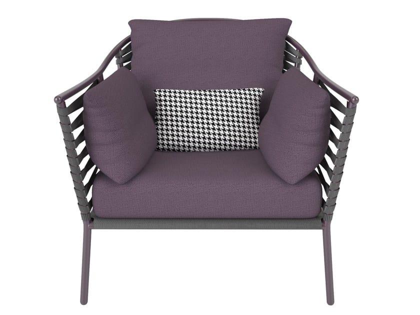 Sunbrella® garden armchair PORTOFINO | Armchair with armrests by Sérénité Luxury Monaco