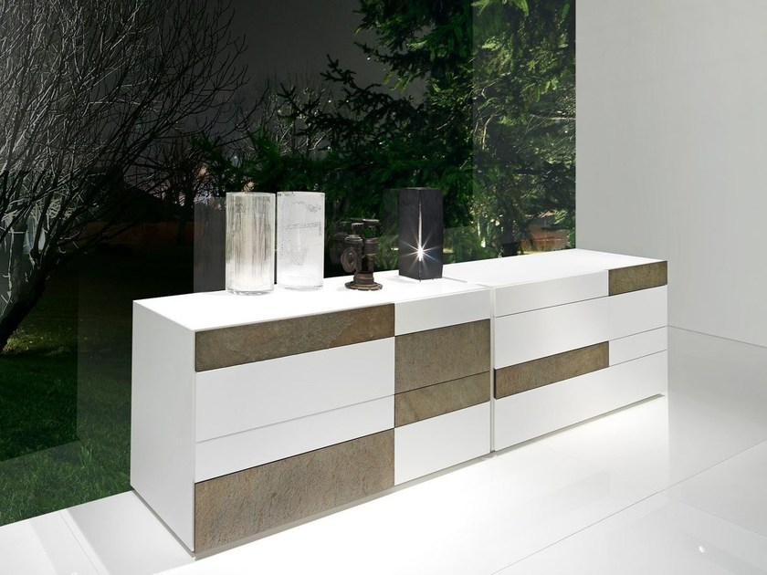 Lacquered dresser WING | Dresser - Presotto Industrie Mobili