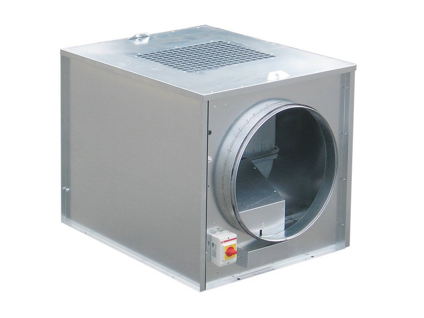Mechanical forced ventilation system CACT-T - S & P Italia