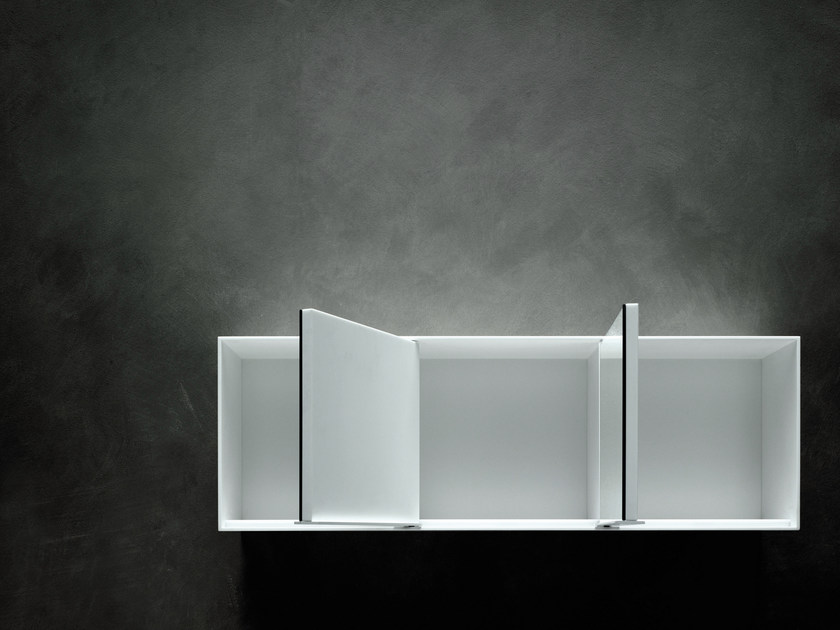 Storage Corian® wall cabinet OTHELLO by Boffi