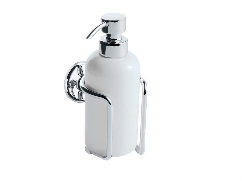 Wall-mounted ceramic liquid soap dispenser ST. JAMES | wall mounted soap dispenser - GENTRY HOME