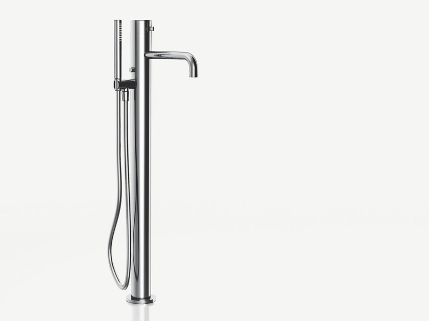 Floor standing bathtub mixer with hand shower AF/21 | Floor standing bathtub mixer - ABOUTWATER