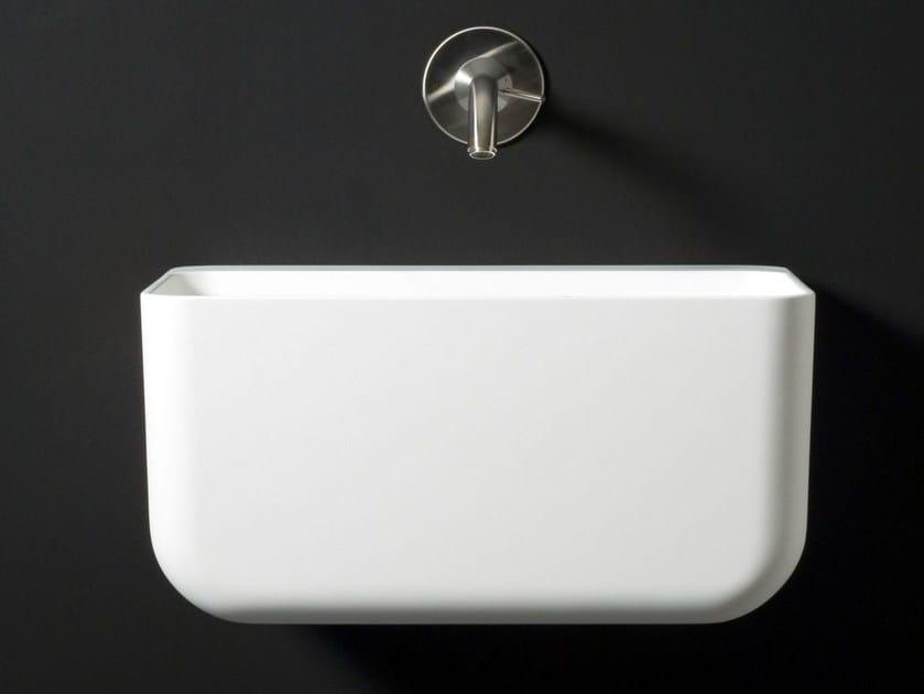 Wall-mounted Cristalplant® washbasin VOL | Wall-mounted washbasin - Boffi