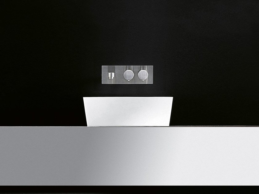 Countertop Cristalplant® washbasin GOBI | Countertop washbasin - Boffi