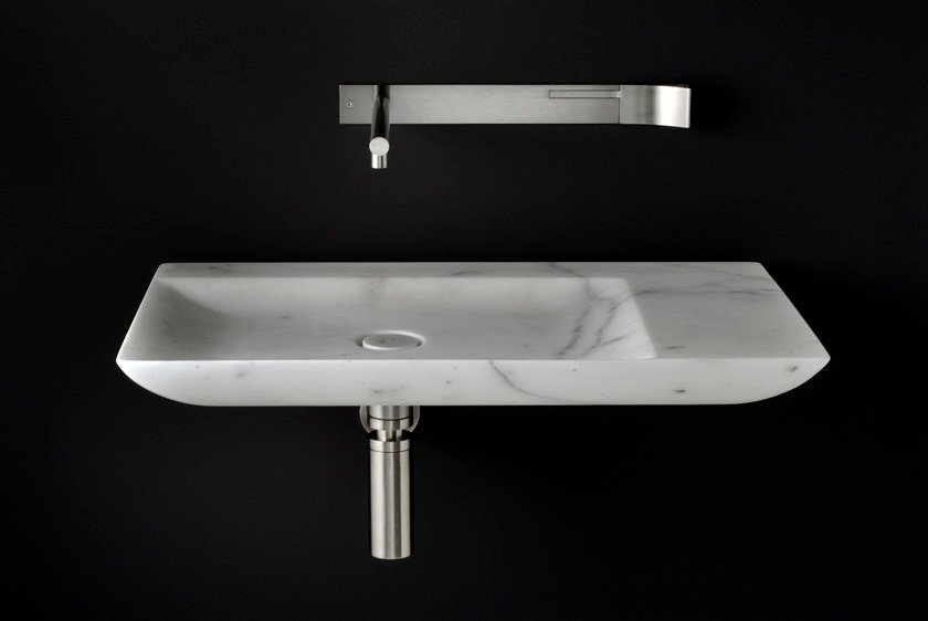 Single marble washbasin L 10 - Boffi