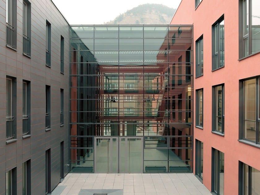Fire rated glass facade and window VISS - BT fire