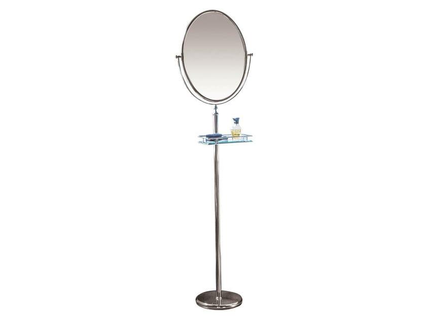 Specchio da terra ovale in stile classico per bagno joel collezione unique by gentry home - Specchio ovale da terra ...