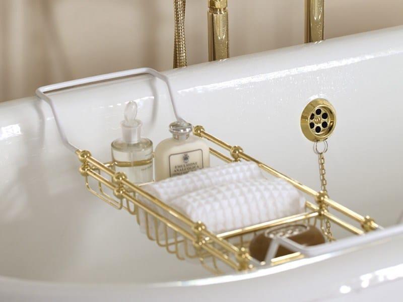 Portasapone da appoggio per vasca lize estensibile vasca gentry home - Cuffie da bagno vintage ...