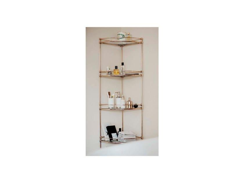 Bathroom wall shelf TAYLOR | accessory shelfs storage by GENTRY HOME