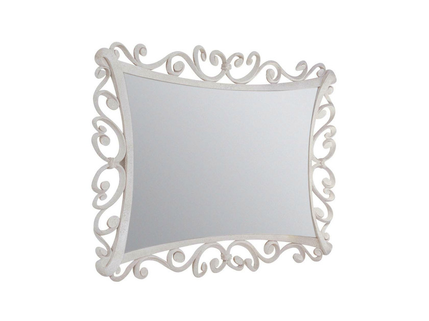 Wall-mounted framed mirror ANNE - GENTRY HOME