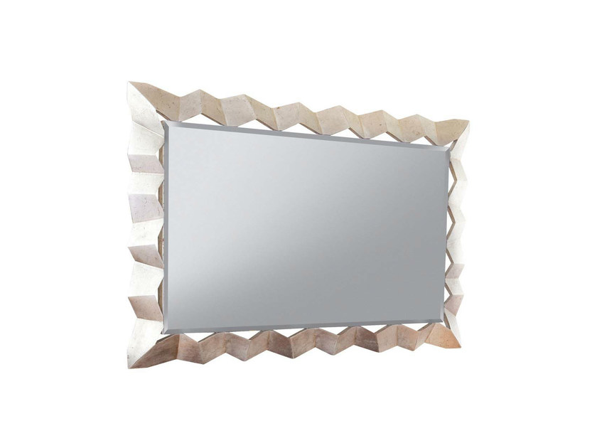 Wall-mounted framed mirror AUDREY - GENTRY HOME