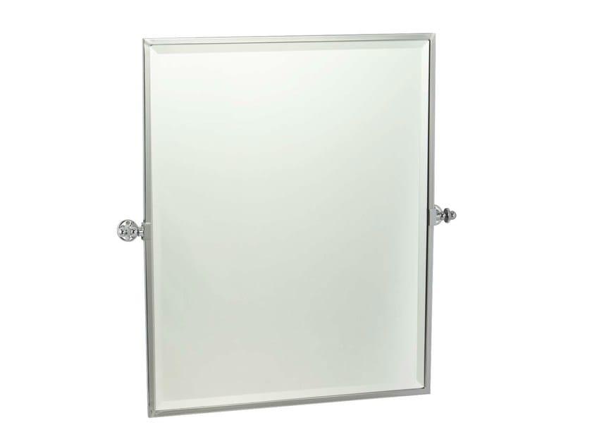 Tilting wall-mounted framed mirror PORTLAND - GENTRY HOME