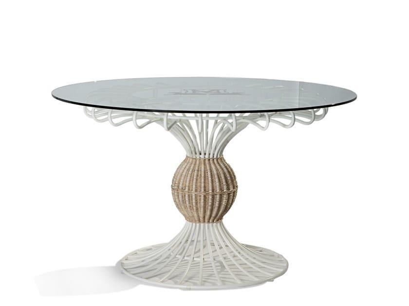 Round garden table SAIPH | Garden table by Samuele Mazza by DFN