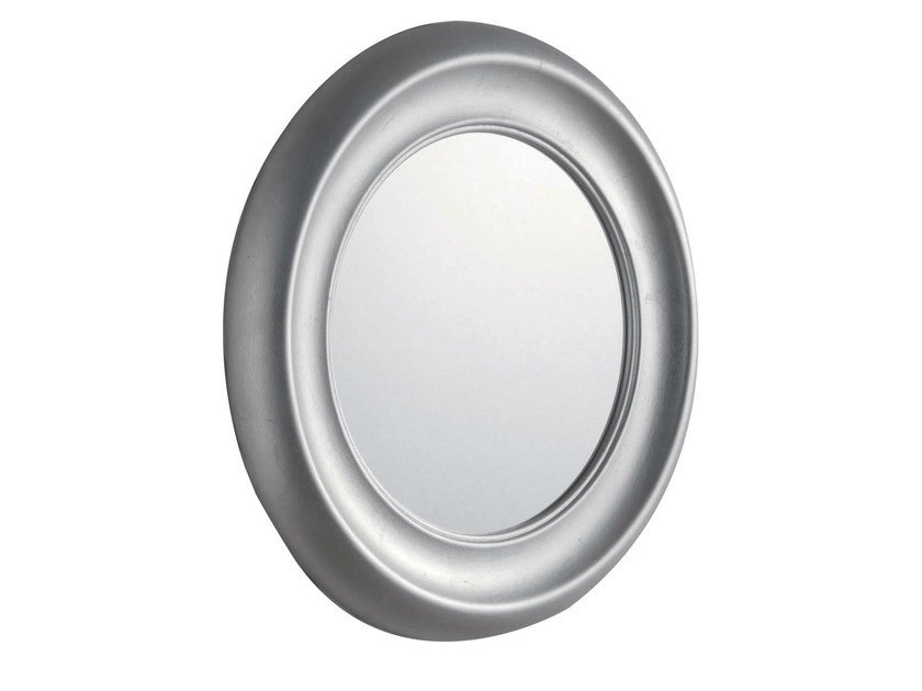 miroir rond avec cadre pour salle de bain moon by gentry home. Black Bedroom Furniture Sets. Home Design Ideas