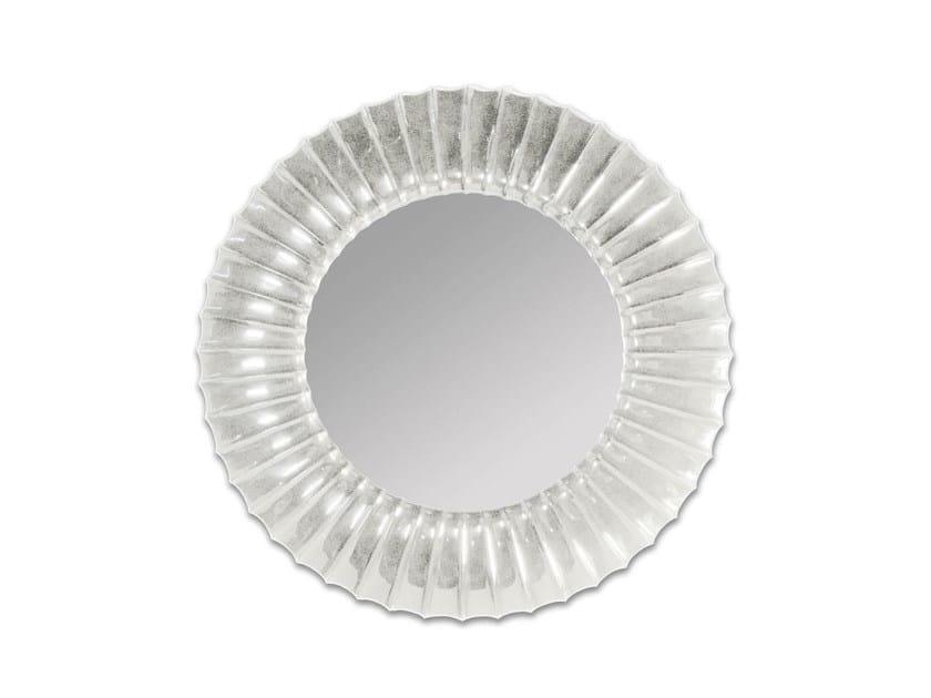 Framed round bathroom mirror JOY - GENTRY HOME