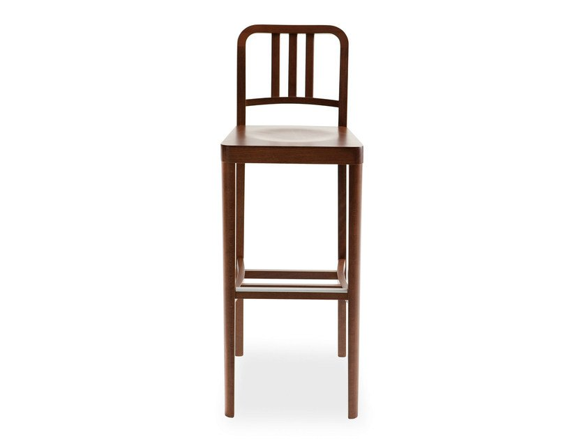 Lacquered beech chair CO2 | Chair by BILLIANI