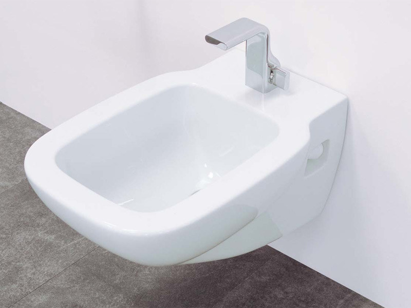 Wall-hung ceramic bidet SPRINT | Wall-hung bidet - CERAMICA FLAMINIA