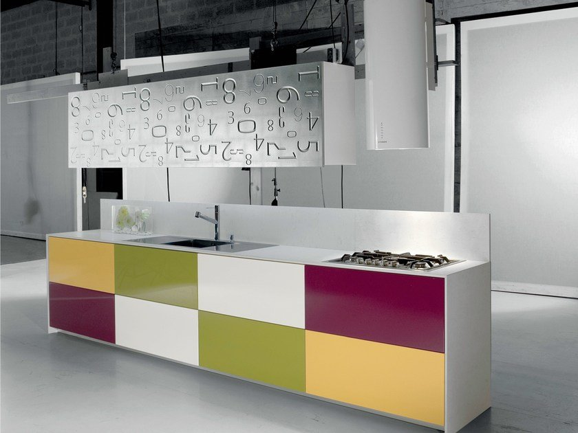 Fitted kitchen RODI by Del Tongo