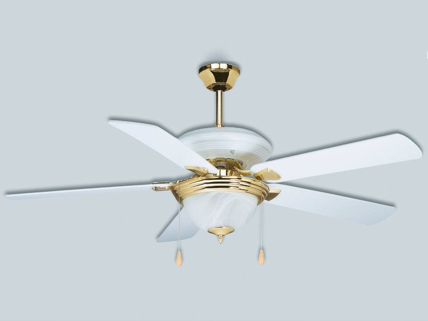 Ceiling fan with integrated lighting HTD/HTL - S & P Italia