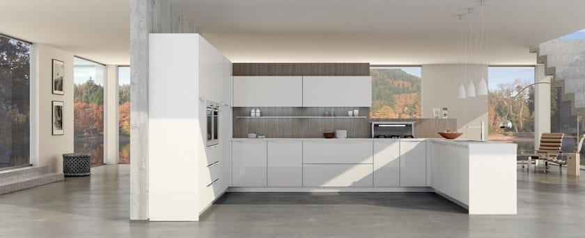 Cucina componibile valencia del tongo for Rivestimenti metallici orizzontali