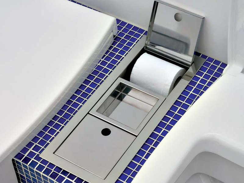 Tissue holder UNA | Toilet roll holder - CERAMICA FLAMINIA