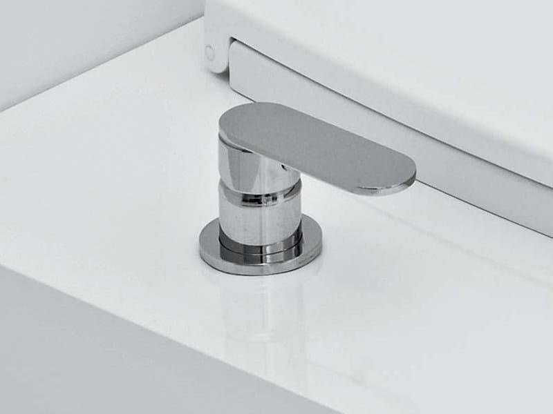 Countertop 1 hole bidet mixer UNA | Bidet mixer - CERAMICA FLAMINIA