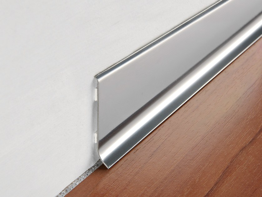Glossy steel Skirting board SKIRTING 60 - PROGRESS PROFILES