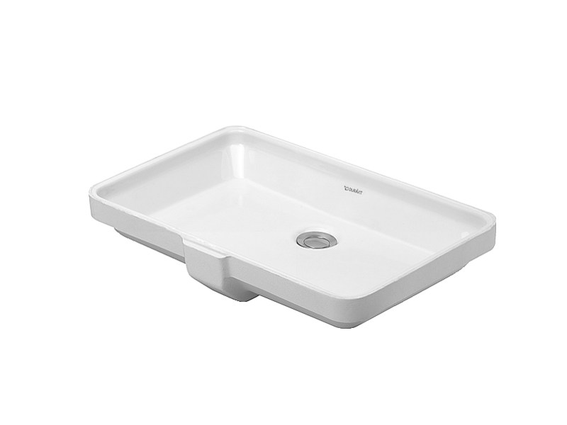 Undermount ceramic washbasin 2ND FLOOR | Undermount washbasin - DURAVIT
