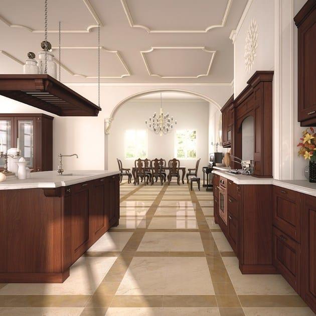 Isola Cucina In Legno E Marmo Interior Design: Cucina con isola ...