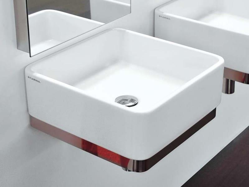 Wall-mounted ceramic washbasin MINIWASH | Wall-mounted washbasin - CERAMICA FLAMINIA