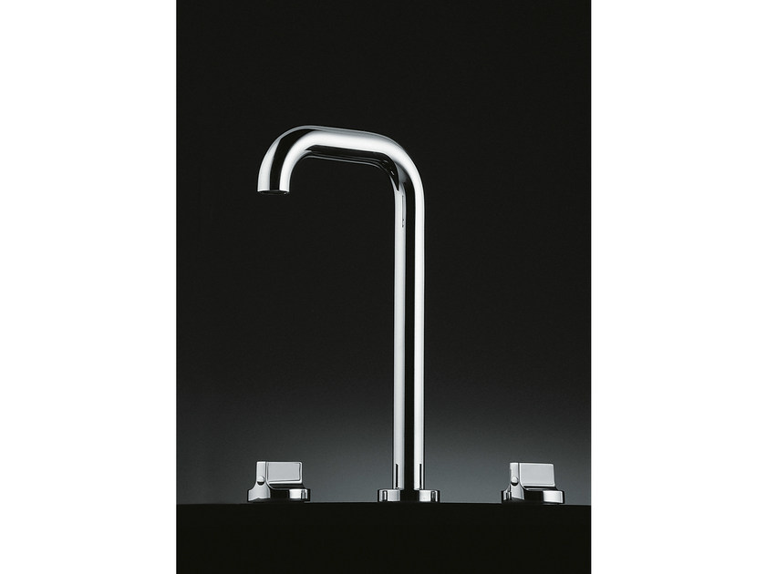 Chromed brass washbasin tap LIQUID | Washbasin tap - Boffi