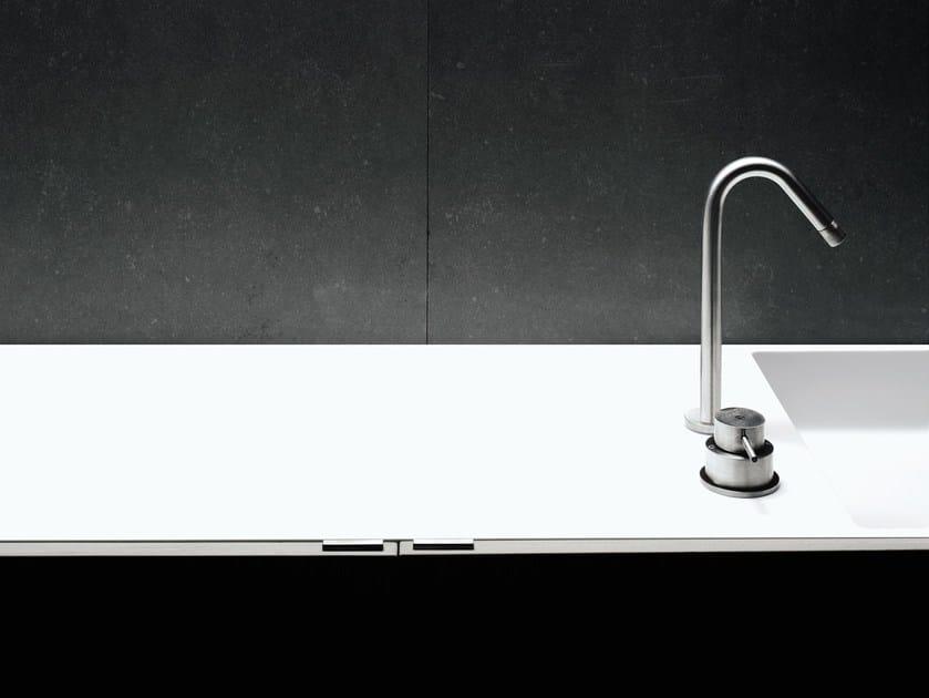 Stainless steel washbasin tap MINIMAL | Washbasin tap - Boffi