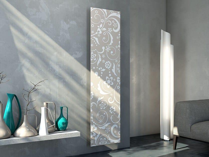 Termoarredo a pannello verticale iris cordivari for Termoarredo design soggiorno