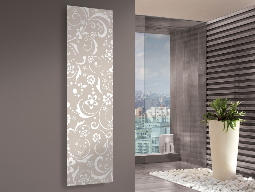 Vertical panel radiator IRIS by CORDIVARI