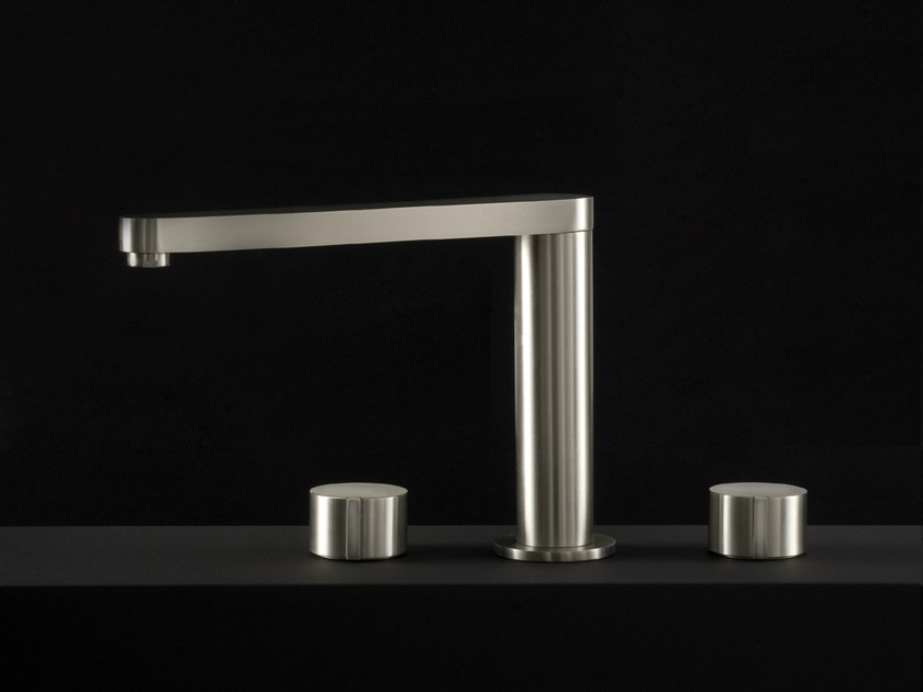Stainless steel washbasin tap W1   Washbasin tap - Boffi