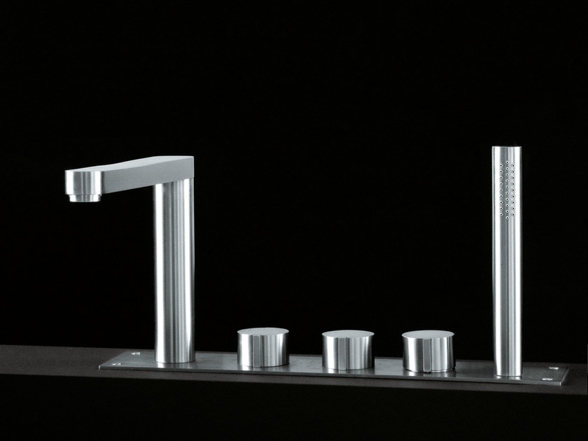 Thermostatic bathtub tap with diverter W1 | Bathtub tap - Boffi