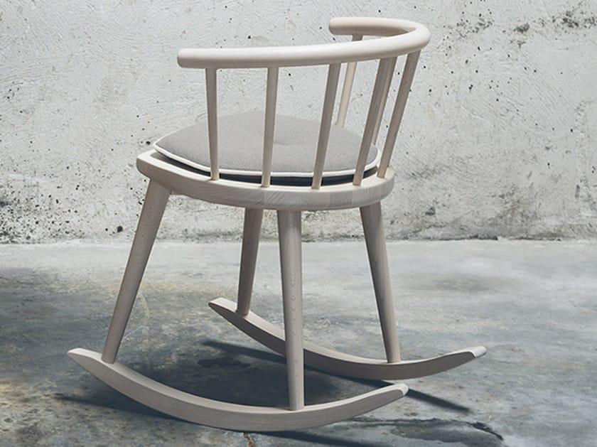 W sedia a dondolo by billiani design fabrizio gallinaro - Sedia a dondolo design ...