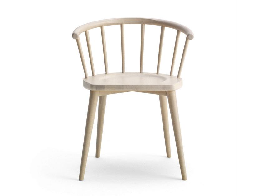 Beech chair with armrests W. | Chair - BILLIANI