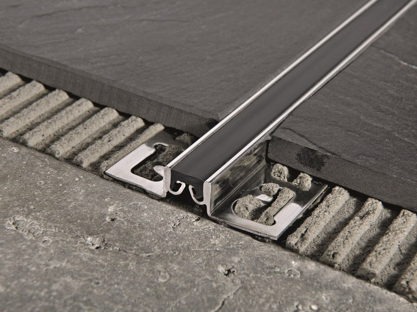 Synthetic rubber Flooring joint PROFLEX ACC by PROGRESS PROFILES