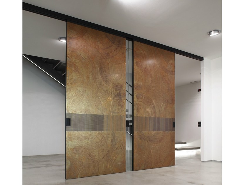 Copper leaf door panel UNIQUE ART - dekodur®