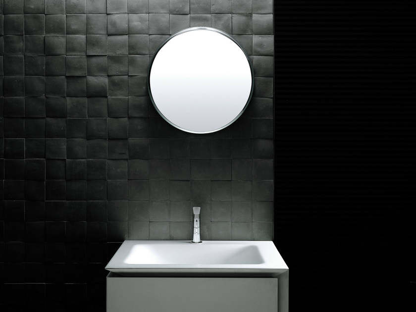 Specchio a parete per bagno mercury specchio rotondo boffi - Specchio bagno rotondo ...
