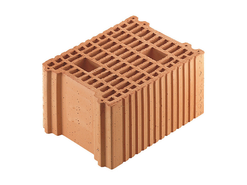 Thermal insulating clay block Porotherm BIO PLAN 25-33/19,9 - WIENERBERGER