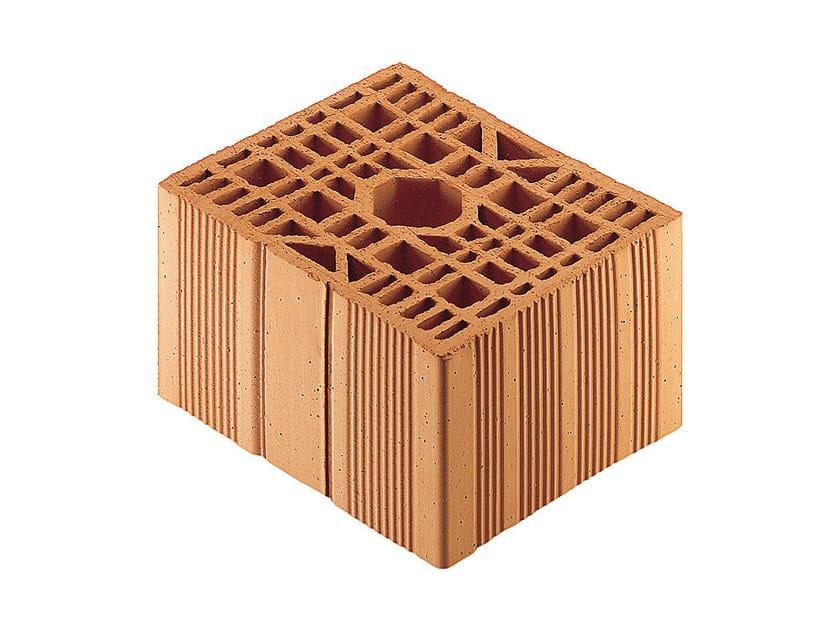 Loadbearing clay block Porotherm BIO Modulare 30-25/19 M.A. - WIENERBERGER