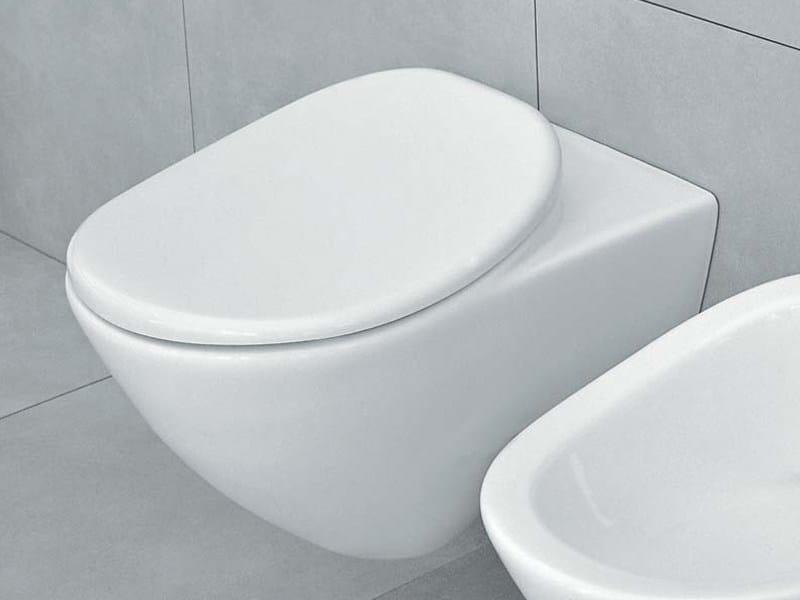 Wall-hung ceramic toilet IO | Wall-hung toilet - CERAMICA FLAMINIA