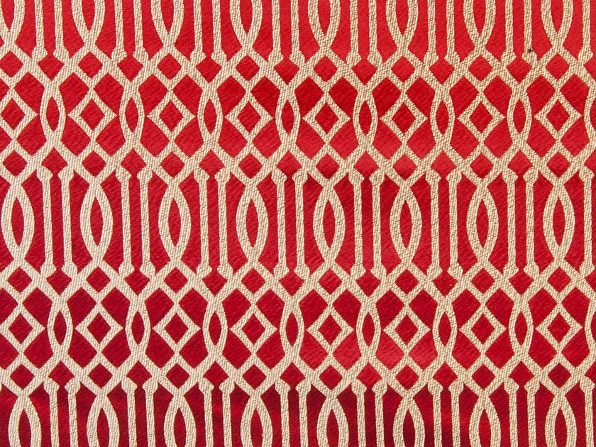 Upholstery fabric with graphic pattern RYAD DYOR - Aldeco, Interior Fabrics