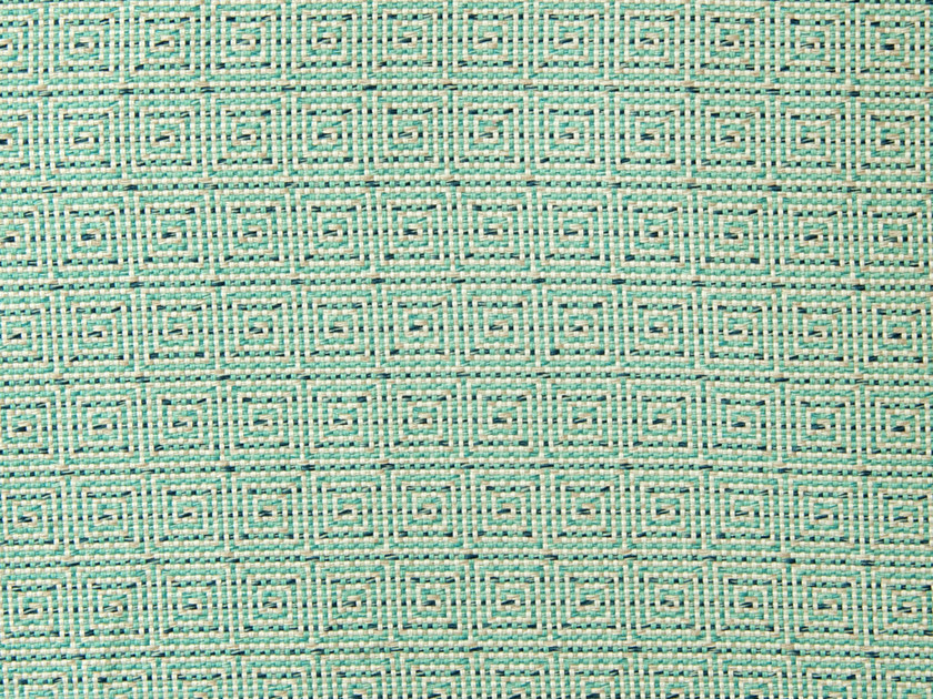 Cotton fabric with graphic pattern CAPRI - Aldeco, Interior Fabrics
