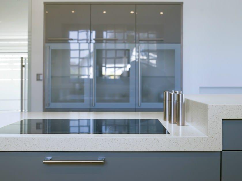 Solid Surface® kitchen worktop GETACORE® | Kitchen worktop - GetaCore® by Westag & Getalit