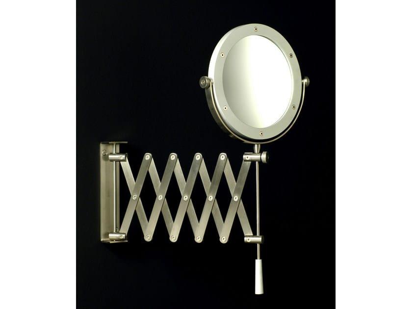 Round wall-mounted shaving mirror MINIMAL | Shaving mirror - Boffi
