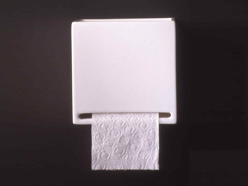 Ceramic toilet roll holder RL11 | Toilet roll holder - Boffi